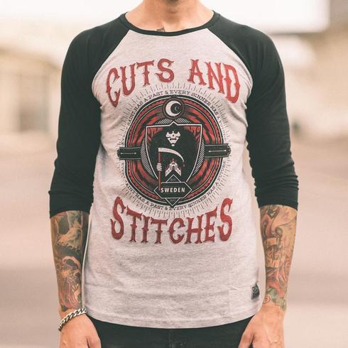 Cuts & Stitches - Every Saint Baseball Shirt