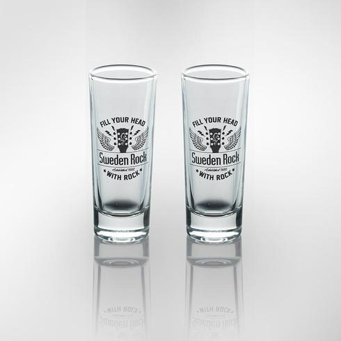 Sweden Rock Wear - Shotglas 2-pack