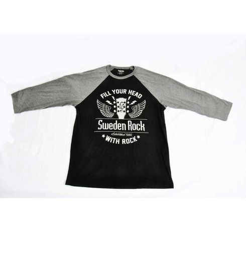 Sweden Rock Wear - Longsleeve T-shirt Baseball