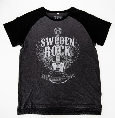 Sweden Rock Wear - T-shirt - Limiterad - Guitar