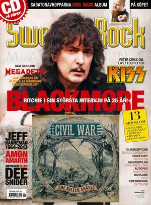 SRM #105 ink CD (album) Civil War