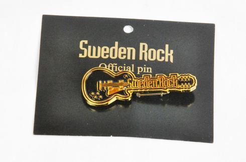 Sweden Rock Wear - Pin Gitarr Les Paul