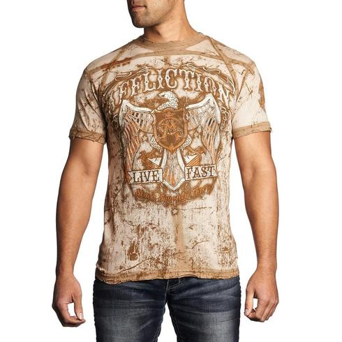 Affliction - Tried True Rust T-shirt