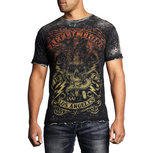 Affliction - Voodoo Man T-shirt (Vändbar)