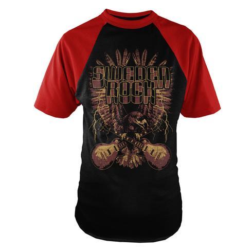 Sweden Rock Wear - T-shirt Festival Print Limited 2 2017