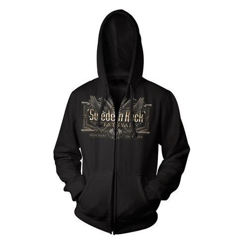 Sweden Rock Wear - ZIP-hoodie Festival Print 2016