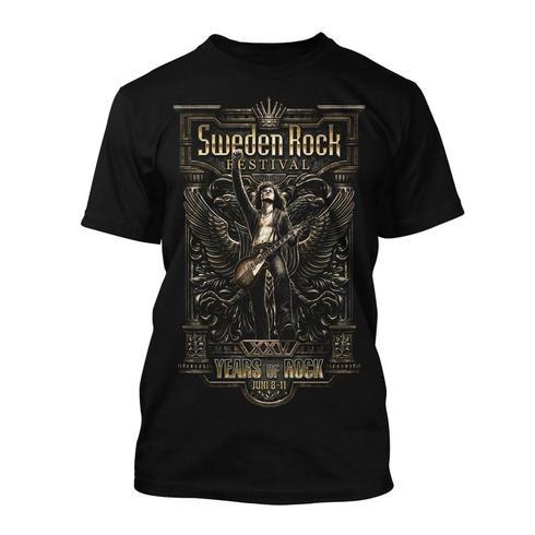Sweden Rock Wear - T-shirt Festival Print 2016