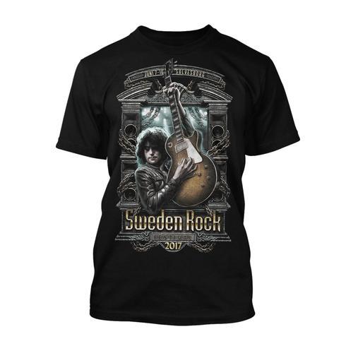 Sweden Rock Wear - T-shirt Festival Print 2017